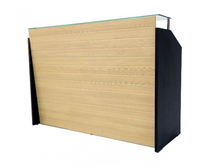 Comptoir Secrétaire 419 MDF PVC 160*60 cm vitré